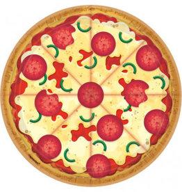 Amscan ASSIETTES 9'' - PIZZA