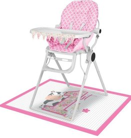 Creative Converting HIGH CHAIR KIT - FARMHOUSE 1ST BDAY GIRL