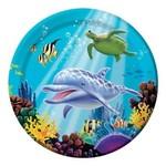 Creative Converting ASSIETTES 9'' (8) - SOUS L'OCEAN