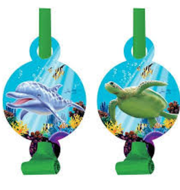 Creative Converting SOUFFLETS (8) - SOUS L'OCEAN