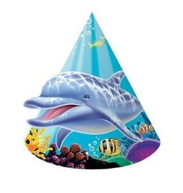 Creative Converting CHAPEAUX DE FETE (8) - SOUS L'OCEAN