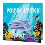 Creative Converting INVITATIONS SOUS L'OCEAN (8)