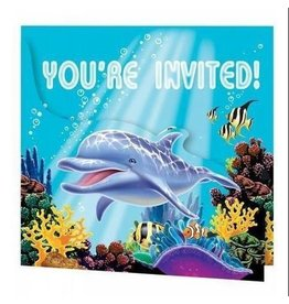 Creative Converting INVITATIONS SOUS L'OCEAN (8)