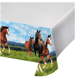 Creative Converting NAPPE DE PLASTIQUE - CHEVAL & PONEY