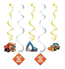 Creative Converting DÉCORATIONS SUSPENDUES (5) - CONSTRUCTION BIG DIG