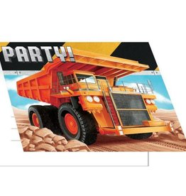 Creative Converting *CARTE D'INVITATIONS - CONSTRUCTION BIG DIG