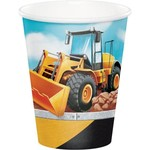 Creative Converting *VERRES 9OZ(8) - CONSTRUCTION BIG DIG