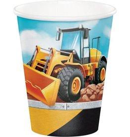 Creative Converting VERRES 9OZ (8) - CONSTRUCTION BIG DIG