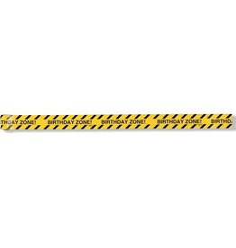 "Creative Converting Under Construction Plastic ""Caution"" Warning Tape"