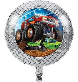 Creative Converting BALLON MYLAR 18PO - MONSTER TRUCK
