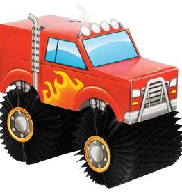 Creative Converting *CENTRE DE TABLE - MONSTER TRUCK