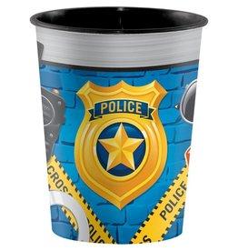 Creative Converting VERRE DE PLASTIQUE 16OZ - POLICE