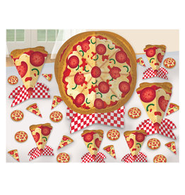Amscan ENSEMBLE DE DÉCORATIONS POUR TABLE - PIZZA