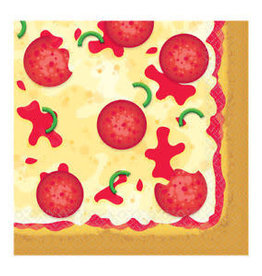 Amscan SERVIETTES DE TABLE (16) - PIZZA
