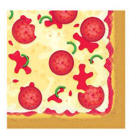 Amscan SERVIETTES DE TABLE (16) - PIZZA