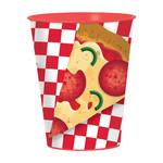 Amscan VERRE DE PLASTIQUE 16OZ - PIZZA