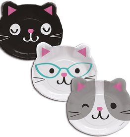 "Creative Converting ASSIETTES 9"" (8) - CHATON MIGNON"