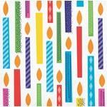 Creative Converting *SERVIETTES COCKTAIL - HAPPY BIRTHDAY COLORÉ