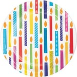 Creative Converting ASSIETTES 7PO (8) - FÊTE COLORÉE