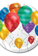 "Creative Converting ASSIETTES 7"" (8) - BALLONS"