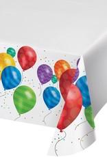 "Creative Converting NAPPE DE PLASTIQUE (54""X102"") - BALLONS"