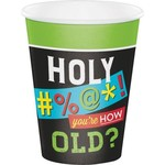Creative Converting VERRE 12OZ (8) - HUMOUR ADULTE