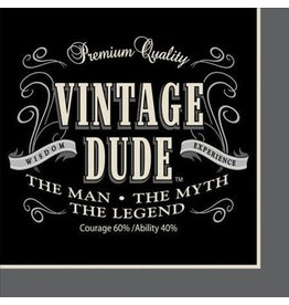 Creative Converting SERVIETTES DE TABLE (16) - VINTAGE DUDE