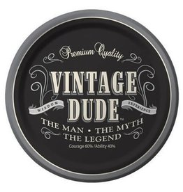 "Creative Converting ASSIETTES 9"" (8) - VINTAGE DUDE"