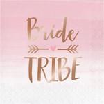 Creative Converting SERVIETTES DE TABLE (16) - TOUT EN ROSE (BRIDE TRIBE)