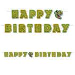 Beistle Co. BANDEROLE HAPPY BIRTHDAY 10 PI - DINOSAURE