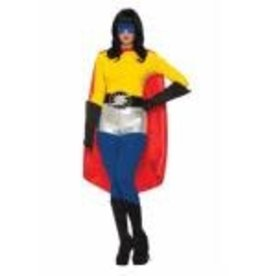Forum Novelty * CAPE ADULTE HERO - ROUGE