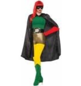Forum Novelty * CAPE ADULTE HERO - NOIR
