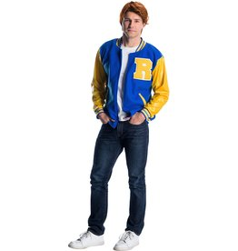 RUBIES COSTUME ADULTE RIVERDALE AVEC PERRUQUE - ARCHIE ANDREWS