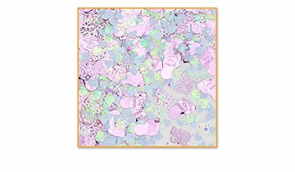 Beistle Co. CONFETTIS (0.5OZ) - BABY GIRL