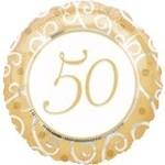 Anagram BALLON MYLAR 18PO - 50E ANNIVERSAIRE DE MARIAGE