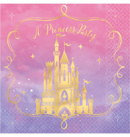 Amscan SERVIETTE DE TABLE - PRINCESSE(16)