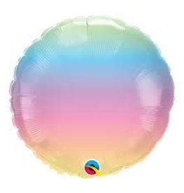 Qualatex *BALLON MYLAR 18PO - MULTICOLOR PASTEL