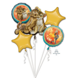 Qualatex KIT BALLON MYLAR (5) - ROI LION