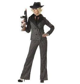California Costumes COSTUME ADULTE GANGSTER LADY