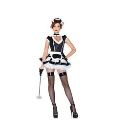 Leg Avenue COSTUME ADULTE BONNE EN CHARGE