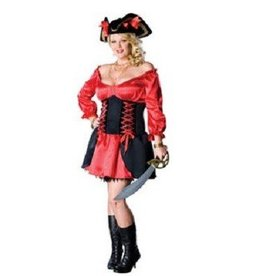 RUBIES COSTUME ADULTE PIRATE WENCH