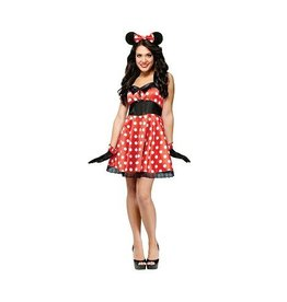 FUN WORLD COSTUME ADULTE MINNIE MOUSE RETRO