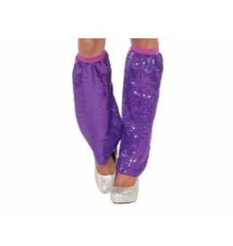 Forum Novelty JAMBIERES EN SEQUIN -MAUVE