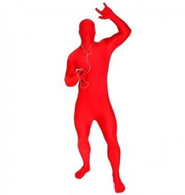 MORPHSUITS COSTUME MORPHSUIT ROUGE