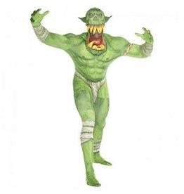 MORPHSUITS COSTUME MORPHSUIT ORC VERT