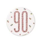Unique MACARON 90 ANS - ROSE GOLD