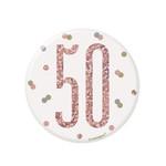 Unique MACARON 50 ANS - ROSE GOLD