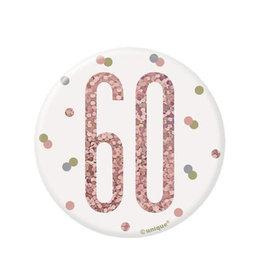 Unique MACARON 60 ANS - ROSE GOLD