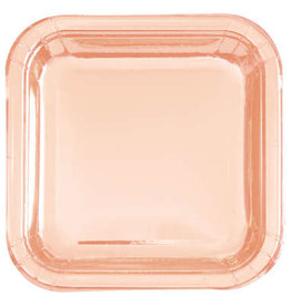 Unique ASSIETTES CARRÉ 9PO (8) - ROSEGOLD