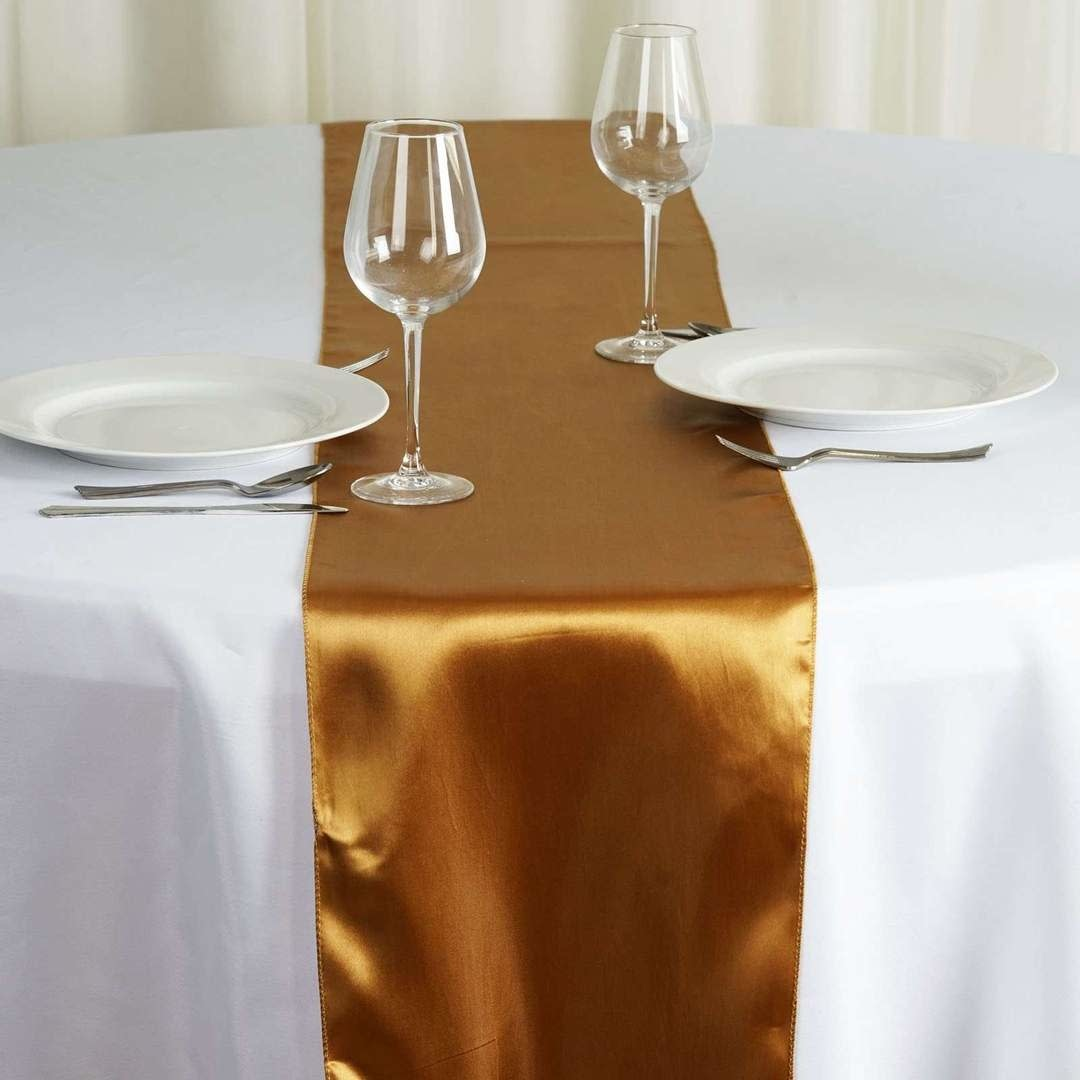 PARTY SHOP SATIN TABLE RUNNER RENTAL